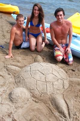 CWC sandcastle contest