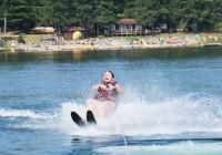 water skiing at CWC