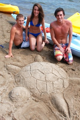 CWC sandcastle contest