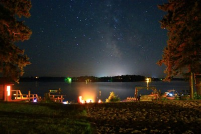 Stargazin' at Beach Campfire - Thanks Andrew Sawyers for this 2013 CWC photo contest winner!