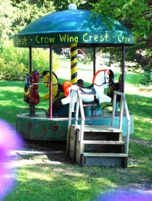 mini carousel at CWC resort
